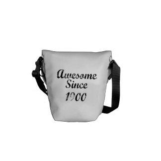 Awesome Since 1900 Messenger Bag