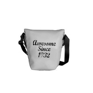 Awesome Since 1932 Commuter Bags