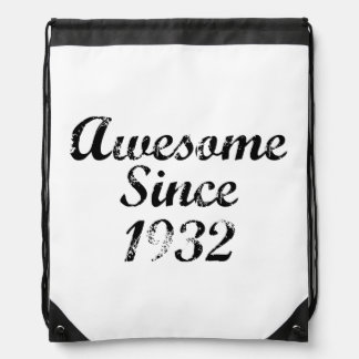 Awesome Since 1932 Cinch Bag