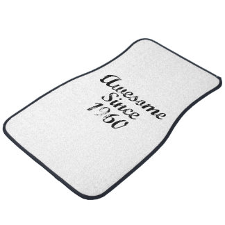 Awesome Since 1960 Car Mat