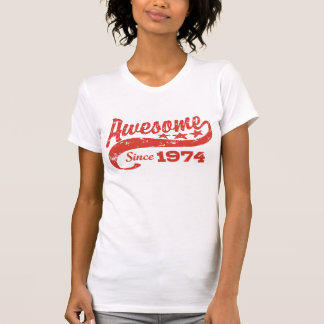 Awesome Since 1974 Tee Shirt