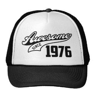 Awesome Since 1976 Cap