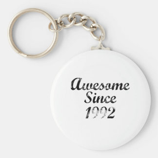 Awesome Since 1992 Key Chains
