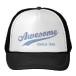 Awesome Since [Year]  [retro blue]