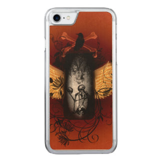 Awesome skeleton carved iPhone 8/7 case