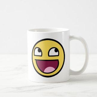 awesome smiley face awesome face coffee mug
