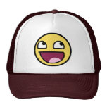 awesome smiley face awesome face hat