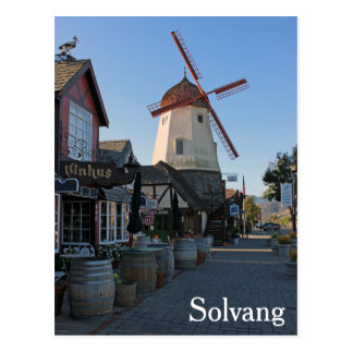 Awesome Solvang Postcard! Postcard