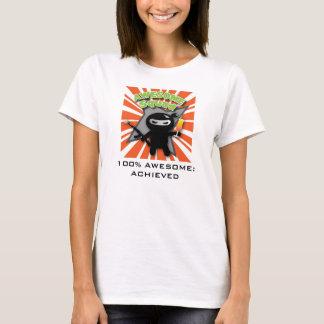 Awesome Squad logo: 100% Awesome T-Shirt