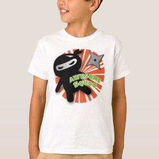 Awesome Squad Ninja Throw T-Shirt