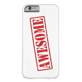 Awesome stamp barely there iPhone 6 case