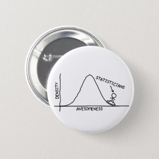 Awesome Statistician Button