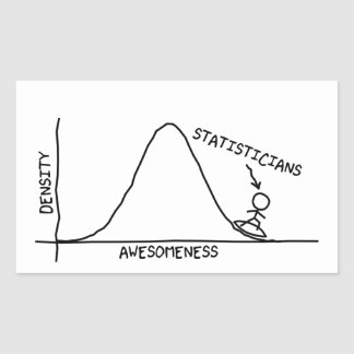 Awesome Statistician Sticker