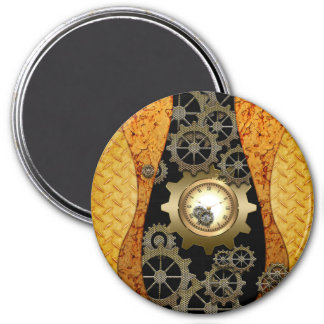 Awesome steampunk design magnet