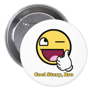 Awesome Story 7.5 Cm Round Badge