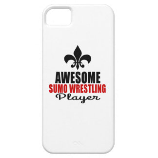 AWESOME SUMO WRESTLING PLAYER iPhone 5 COVER