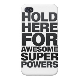 Awesome Super Powers Case For iPhone 4