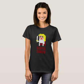 Awesome Super Shero 8-Bit Retro Gamer T-Shirt