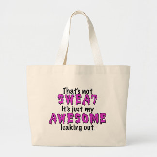 Awesome Sweat Canvas Bags