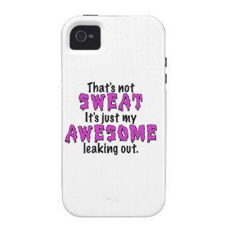 Awesome Sweat Vibe iPhone 4 Cover