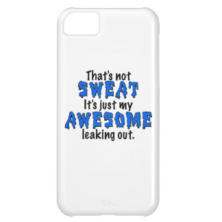Awesome Sweat iPhone 5C Covers
