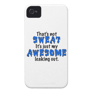 Awesome Sweat iPhone 4 Covers