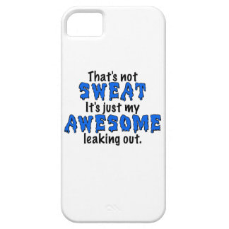 Awesome Sweat iPhone 5 Cover