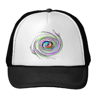 Awesome Swirl of colors Cap