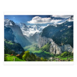 Awesome Switzerland Alps Post Cards