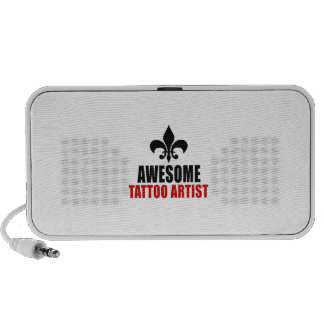 AWESOME TATTOO ARTIST PORTABLE SPEAKERS