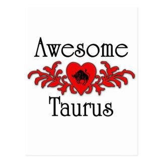 Awesome Taurus Postcard