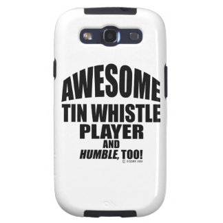Awesome Tin Whistle Player Samsung Galaxy SIII Case