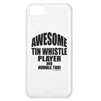 Awesome Tin Whistle Player Case For iPhone 5C