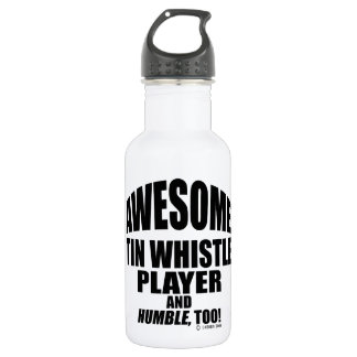 Awesome Tin Whistle Player 532 Ml Water Bottle
