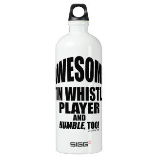 Awesome Tin Whistle Player SIGG Traveller 1.0L Water Bottle