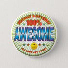Awesome Totally 6 Cm Round Badge