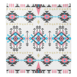 Awesome tribal ethnic Navajo geometric pattern Bandana