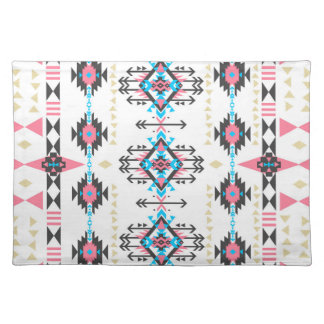 Awesome tribal ethnic Navajo geometric pattern Placemat