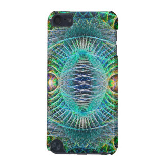 Awesome turquoise Fractal Art iPod Touch (5th Generation) Cover