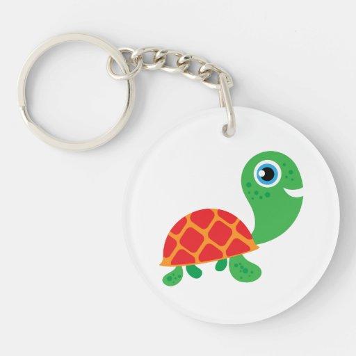 Awesome Turtle Acrylic Key Chain