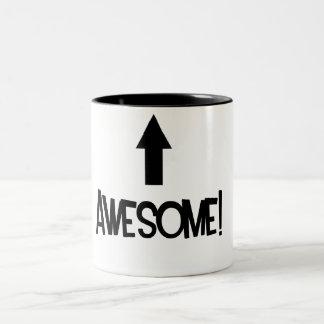 Awesome! Two-Tone Mug