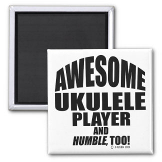 Awesome Ukulele Player Magnet