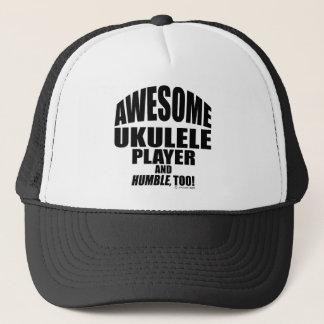 Awesome Ukulele Player Trucker Hat