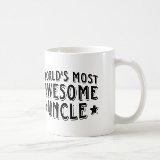 Awesome Uncle Coffee Mugs