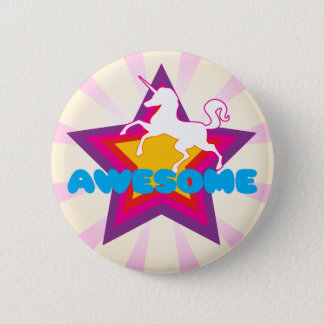 Awesome Unicorn Button