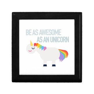Awesome Unicorn Jewelry Box