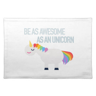 Awesome Unicorn Placemats