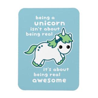 Awesome Unicorn Rectangular Photo Magnet