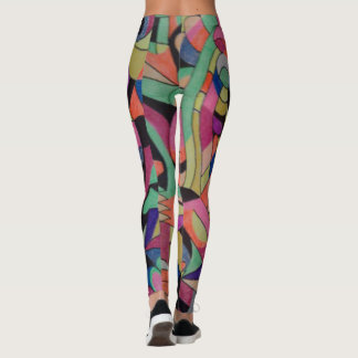 Awesome Unique Abstractions Design on these leggin Leggings