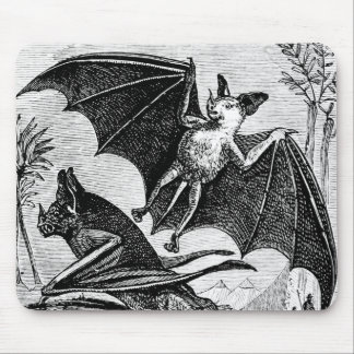 Awesome Vintage BAT Mouse Pad